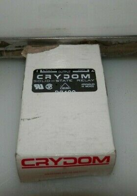 New Crydom D2490 Solid State Relay 240V Output 3-32V Input 90A