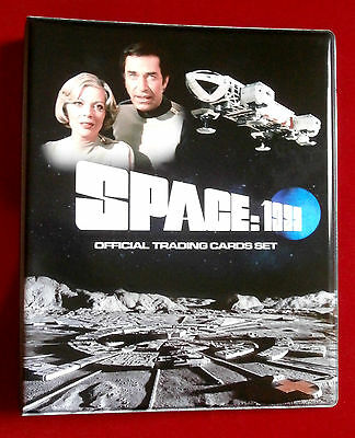 SPACE 1999 ALL 54 BASE CARDS + Official Trading Card BINDER, Unstoppable 2016
