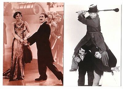 3 Marx Brothers postcard lot New unused licensed copyrighted Groucho Chico Harpo