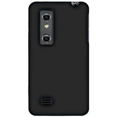 Amzer Silicone Soft Skin Jelly Fit Case Cover for LG Optimus 3D P920 - Black