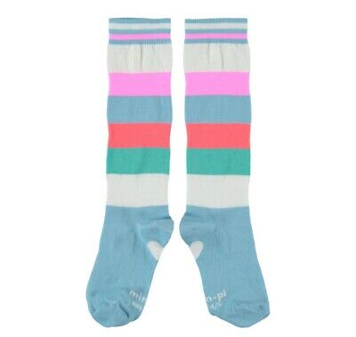 Mim Pi Thick Stripe Knee Socks Age 8-10 Years