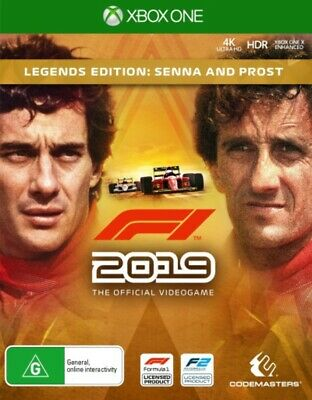 F1 2019 Legends Edition Xbox One Game NEW