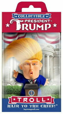 President Donald Trump Collectible Troll Doll  Figure