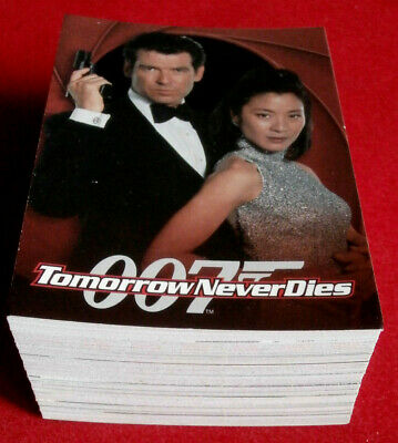 JAMES BOND - Tomorrow Never Dies - Complete Base Set - 90 Cards - Inkworks 1997