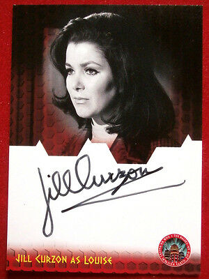 DOCTOR WHO AND THE DALEKS - JILL CURZON, Louise - Autograph Card - 2014