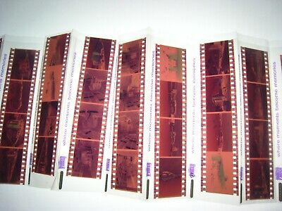 Lot Of 40 Color Circus,Train 35Mm Negatives....a-3
