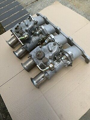 Weber 40DCOE. Pair On Ford Zetec/duratec Manifold.