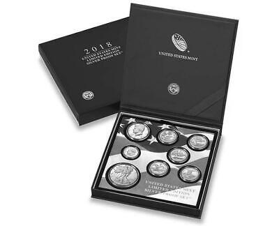 2018 S US Mint Limited Edition Silver Proof 8 Coin Set *