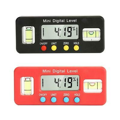 Mini Digital Bevel Box Protractor Gauge Angle Finder Inclinometer Magnetic Level