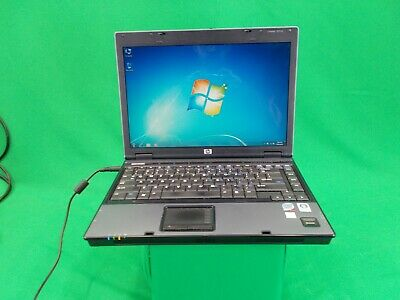 HP Compaq 6510b Intel Core 2 Duo T8100 @ 2.10GHz 160GB HDD 2GB RAM Windows 7 Pro