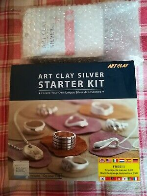 Art Clay Silver Starter Kit With Extras