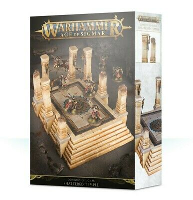 Dominion Of Sigmar: Shattered Temple Games Workshop Brand New 99120299053