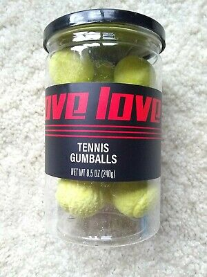 Love-Love Tennis Ball Gumballs Gift New Factory Sealed Best Price!
