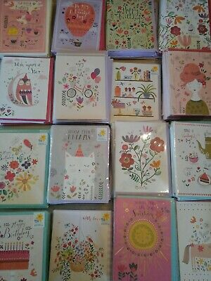 50 Marie Curie Cards, Wholesale Joblot Greeting Cards