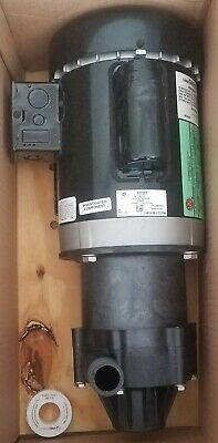 Little Giant 2P044 3/4 HP PPS 115/230V Magnetic Drive Pump 58.9 ft. Max. Head