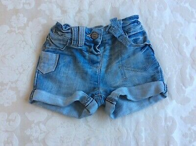 Next Baby Girl Shorts 12-18 mths Good condition