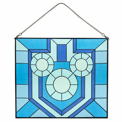 Disney Parks Exclusive Holiday Mickey Hanukkah Stained Glass Window NWT!!
