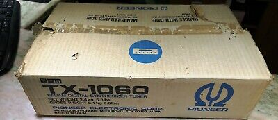 Pioneer tx1060 tuner newoldstock condition original packaging