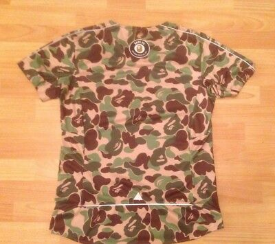 7ff34429e 🦍 BAPE X Adidas FOOTBALL Shirt - LARGE - Japan Exclusive KACHIIRO ...