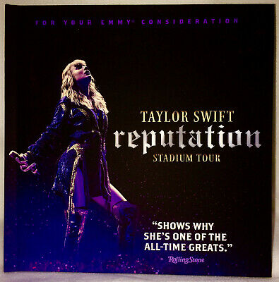 Taylor Swift Reputation Complete Stadium Tour DVD FYC Emmy Netflix Special OOP