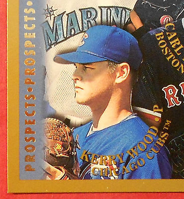 1998 Topps Chicago Cubs Complete Team with 2 Pros & DP (18 cards) Kerry Wood RC