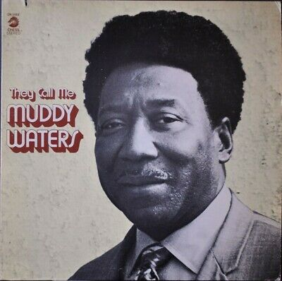 Très Rare Blues 33 LpMuddy Waters – They Call Me Muddy Waters 1971 Import USA