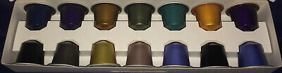 Nespresso OriginalLine Variety Welcome Sampler Pack 14 Coffee Capsules Pods