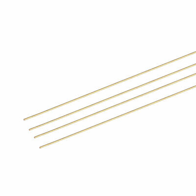 4PCS 0.12mm x 0.2mm x 200mm Brass Pipe Tube Round Bar Rod for RC Boat