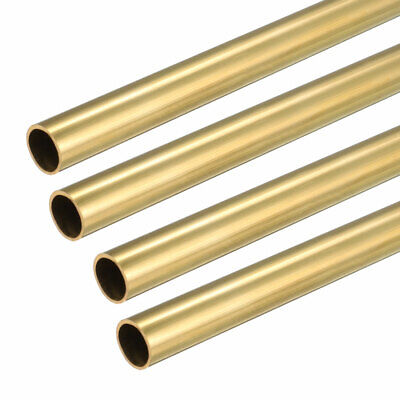 4PCS 5.5mm x 6mm x 500mm Brass Pipe Tube Round Bar Rod for RC Boat