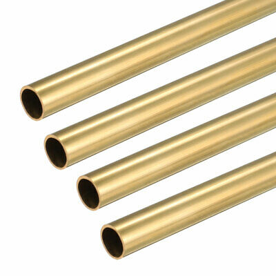 4PCS 6.5mm x 7mm x 500mm Brass Pipe Tube Round Bar Rod for RC Boat