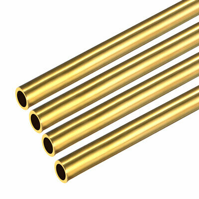4PCS 1.5mm x 2mm x 500mm Brass Pipe Tube Round Bar Rod for RC Boat
