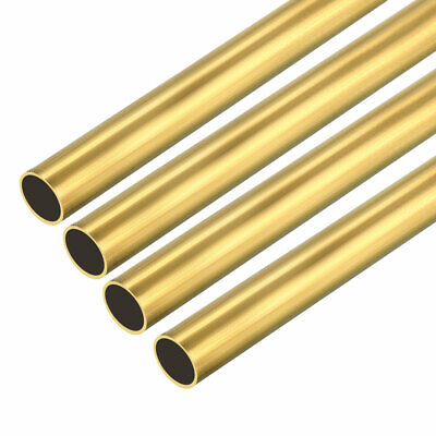 4PCS 4mm x 5mm x 500mm Brass Pipe Tube Round Bar Rod for RC Boat