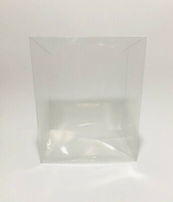 "Lot 1 3 5 10 Acid-Free Clear Funko Pop Protector Case for 6"" Vinyl Figures"