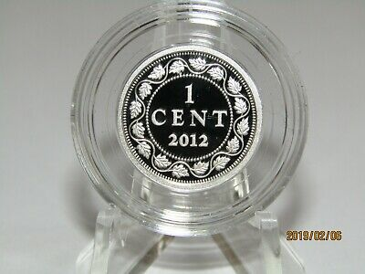 2012 CANADA CENT Pure Silver  9999 Proof Deep Cameo Penny 1 cent