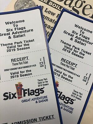 Six Flags Great Adventure Tickets