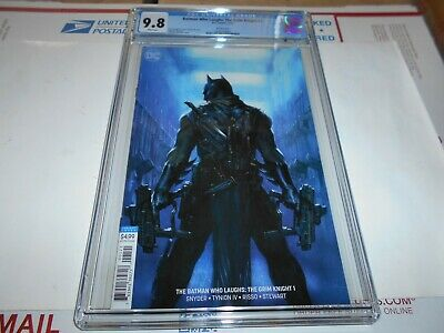 Batman Who Laughs: Grim Knight #1 Cgc 9.8 Dell'otto Variant(Combined Shipping Ok