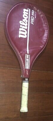 Wilson Pro 110 Tennis Racquet 4 1/4 w/ Cover Racket Vibra Control Beta Gel