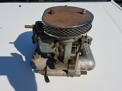 Weber 28/36 DCD Carburettor, Mgb Mga B Series with Manifold