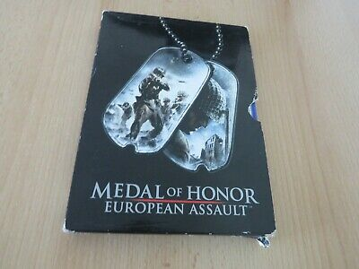 Medal Of Honor:European Assault Sony PLAYSTATION 2,ps2 Edizione Limitata Manica