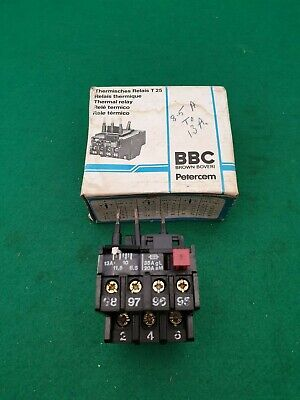 BBC Brown Boveri T25DM Overload Relay 8.5 13  Amp