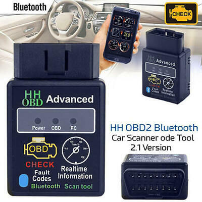 OBD2 ELM327 V2.1 Bluetooth Car Scanner Torque Diagnostic Scan for Android mkl