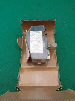 Siemens 3UA50 00-1E Thermal Overload Relay 2.5 - 4 Amp