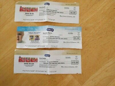 $20 Worth Of Enfagrow And Enfamil coupons checks expired