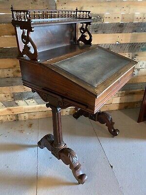 Stunning Early 19th Century Victorian Rosewood Davenport Writing Desk / Bureau
