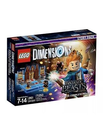 Fantastic Beasts Story Pack Lego 71253 Dimensions New and Sealed Fast P&P