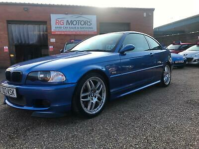 2003 BMW 330 3.0 Ci Clubsport Auto 230bhp Met Blue 2dr Sports Coupe