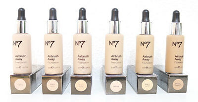 No7 airbrush away foundation for all skin types - medium coverage - 30ml