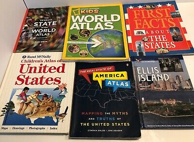 Lot of American History Books Homeschool Early-Mid Elementary -New and Pre-owned