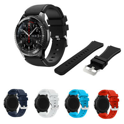 Bracelet Strap Silicone Watch Band For Samsung Gear S3 Frontier/Classic 22mm