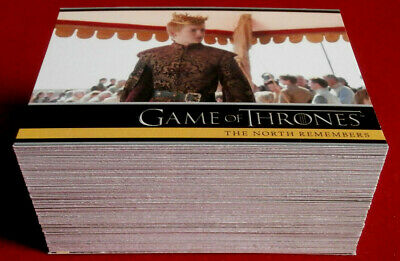 GAME OF THRONES - Season 2 - Complete Base Set (88 cards) - Rittenhouse 2013